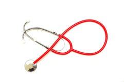 Stethoscope on white background stock image
