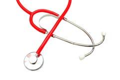 Stethoscope on white background royalty free stock photo