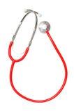 Stethoscope on white background royalty free stock images