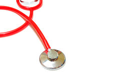 Stethoscope on white background Stock Images