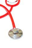Stethoscope on white background royalty free stock photos
