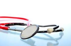 Stethoscope on white background royalty free stock photography
