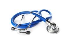 Stethoscope on white background. Medical object stock images