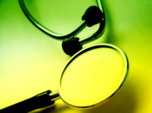 Stethoskop 3 Lizenzfreie Stockfotos
