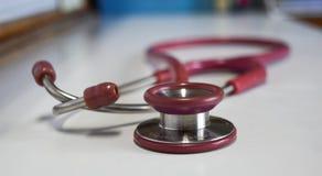 Stethoskop für ärztliche Untersuchung Lizenzfreie Stockfotos
