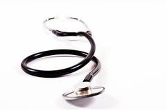 Stethoskop getrennt Lizenzfreie Stockfotografie