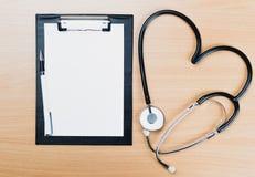 Stethoskop, medizinische Ausrüstung Stockbild