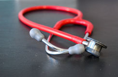 Stethoskop, medizinisches Gerät für Kinder, Kinder, Kind Stockbild