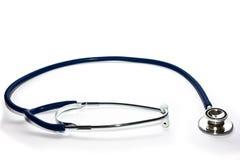 Stetoscopio blu Immagini Stock Libere da Diritti