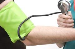 Stetoscopio del braccio fotografia stock libera da diritti