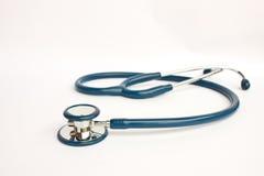 Stetoscopio su bianco Immagine Stock Libera da Diritti
