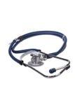 Stetoscopio su priorità bassa bianca immagine stock