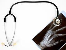 stetoskop x świateł Obrazy Royalty Free