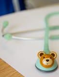 Stetoskop för barn Arkivfoto