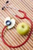 stetoskop jabłkowego Zdjęcia Stock