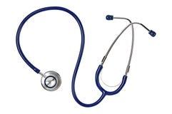 Stetoskop lyssnande lungs till Medicin planlägg ditt royaltyfri foto