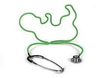 Stetoskop nowe życie Zdjęcie Royalty Free