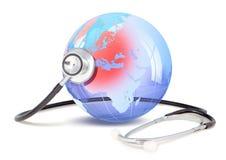 Stetoskop på Europa arkivfoton