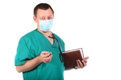 stetoskopu doktorski medyczny writing Zdjęcia Royalty Free