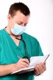 stetoskopu doktorski medyczny writing Zdjęcia Stock
