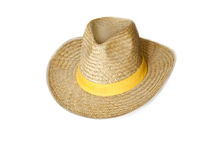 Stetson. The stetson hat on white Stock Photos