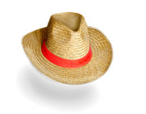 Stetson. The stetson hat over white Stock Images