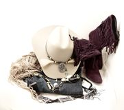 Stetson and accessories Stock Image