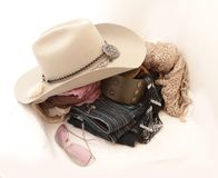Stetson and accessories Stock Images
