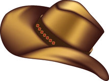 Stetson cowboy hat Royalty Free Stock Photos