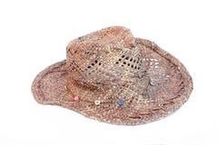 Stetson Female Fashion Hat. Isolated on white Royalty Free Stock Image