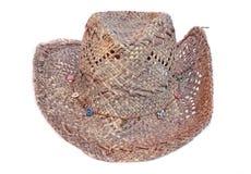 Stetson Female Fashion Hat. Isolated on white Stock Image
