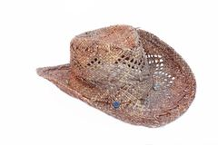 Stetson Female Fashion Hat. Isolated on white Royalty Free Stock Photography