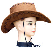 Stetson on Mannequin Stock Photography
