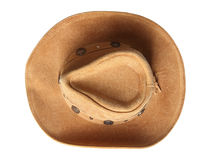 Stetson top view Royalty Free Stock Images