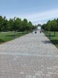 Stettinius parada, Krajowy ważnego dnia pomnik, Bedford, VA, usa Zdjęcia Royalty Free