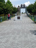Stettinius Parade, National D-Day Memorial, Bedford, VA, USA Stock Photos