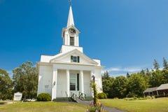Steuben Baptist Church, Maine Royalty Free Stock Image