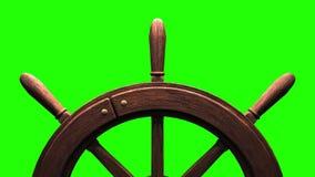 Steuer auf grünem Farbenreinheitsschlüssel stock video