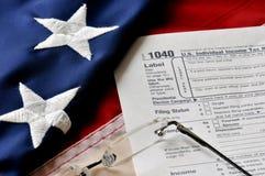 Steuer-Jahreszeit Lizenzfreie Stockbilder