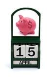 Steuer-Tag Stockbild