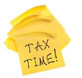 Steuer-Zeit Lizenzfreie Stockfotos