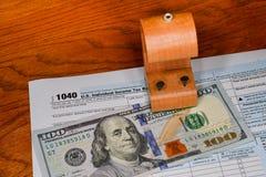 Steuerbefreiung Stockfoto