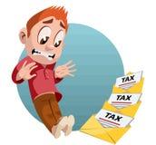 Steuerbuchstaben Stockfoto