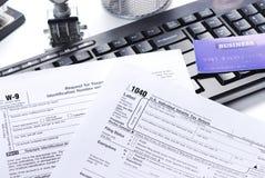 Steuererklärung Lizenzfreies Stockbild