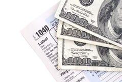 Steuererklärung Lizenzfreie Stockfotos