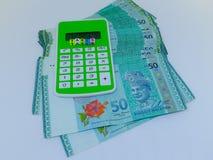 Steuerfinanzkonzept Steuerkonzept bargeld stockfotos