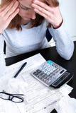 Steuerformular Lizenzfreie Stockfotos