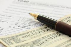 Besteuerung Lizenzfreie Stockfotos