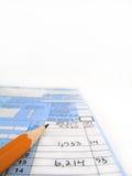 Steuerformulare Stockfoto