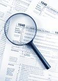 Steuerformulare Stockfotografie